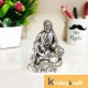 Metal Shirdi Sai Baba Statue Idol Showpiece for Car Dashboard & Home,Office,Table Decorative Gift for Have House Warming, Birthday...