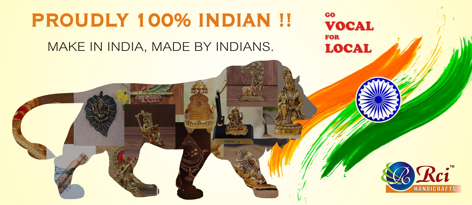 Made In India by RCI Handicrafts