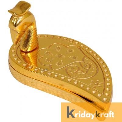 Chandan Roli Kumkum Chawal Peacock Box Decorative Chopda for Pooja and Gift Purpose