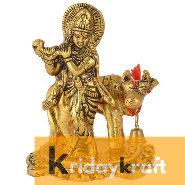 Cow With Krishna Standing no 1