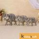 Metal Elephant 3 Pcs Set Silver Polish for Showpiece Enhance Your Home