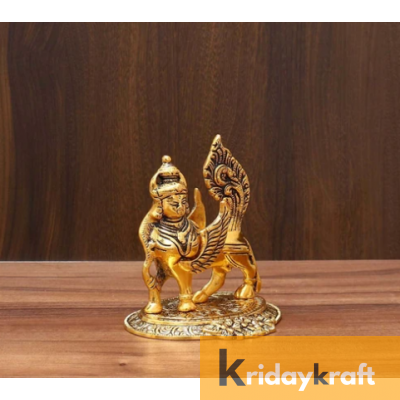 Kamdhenu Nandani Cow Gold Plated
