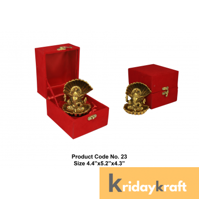 Valvet Box Seep Ganesha for Returns Gifts and coporate gifts