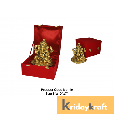 Valvet Box pagdi ganesha for Returns Gifts and coporate gifts