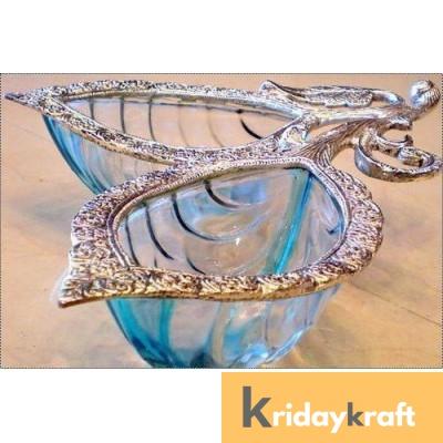 Table decorative handicrafts tray 2 leaf (patta)