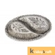 Metal Ovel Shaped Dry Fruit tray table decorative Silver Plated Home Decor