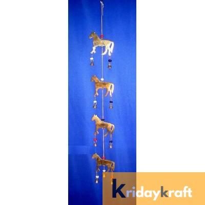 Horse 4pcs Curtain Bells