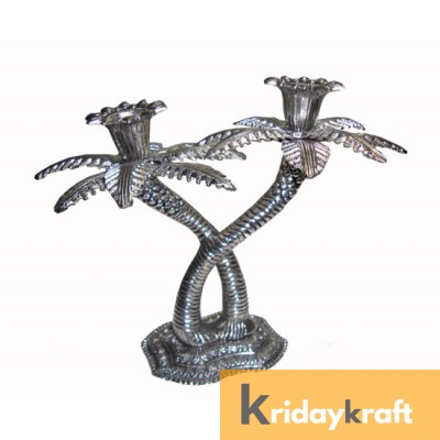 Khajur Candle Stand double