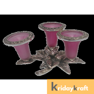 Grapes Candle stand Triple