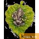 Wall Hanging Green Leaf Ganesh Menakari