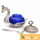 Duck Bowl Metal Crystal Mouth Freshner Container