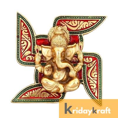 Swastik Ganesh Colour New